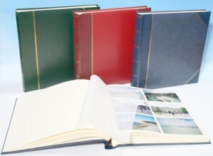 Heritage Classic 4 Traditional Photo Album Cream Pages