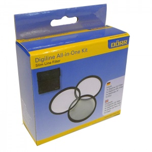 Dorr Digi Line Filter Kit (UV, Circular Polarizer and Close Up +4)