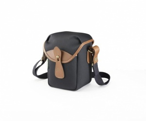 Billingham 72 Camera Bag Black Canvas / Tan Leather