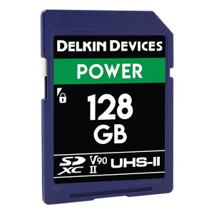 Delkin Power SD Memory Cards UHS-II 2000x (32GB-128GB)
