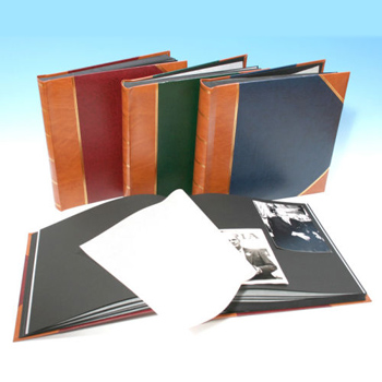 Heritage Classic 2 Traditional Photo Album Black Pages Harpers