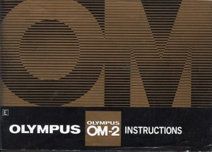 Used Olympus OM-2 Instruction Book
