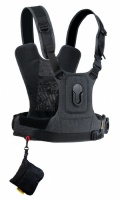 Cotton Carrier CCS G3 Camera Harness System for 1 Camera Grey