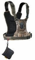 Cotton Carrier CCS G3 Camera Harness System for 1 Camera Camo