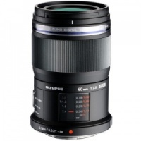 Olympus M.ZUIKO DIGITAL ED 60mm F2.8 Macro Black Lens
