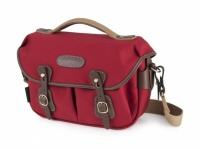 Hadley Small Pro Camera Bag Burgundy Canvas / Chocolate Leather