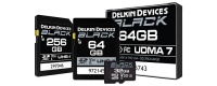 Delkin Black Rugged Micro SD Memory Cards UHS-I (32GB-64GB)