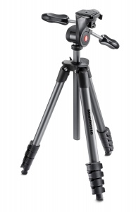 Manfrotto Compact Advanced 3-Way Head Tripod