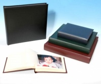 Classic 1 Bonded Leather Black Page Traditional Photograph Album